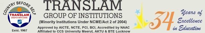 Translam Group: MBA/BBA/BCA/MCA/B.Tech/M.tech/B.Pharma/M.Pharma/B.Ed/LLB